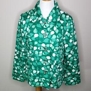 Merona Green Leaf Jacket